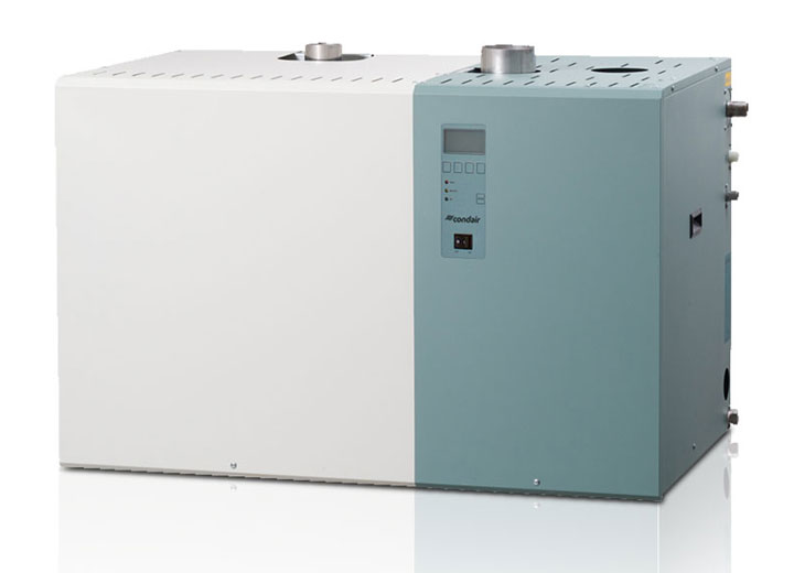 Gas-fired steam humidifier